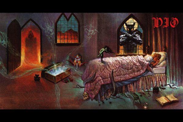 139. Постер Dio drawing to the album 1985