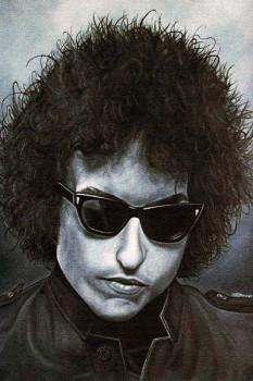 149. Постер: Bob Dylan, является второй (после The Beatles) ведущей фигурой в истории рок-музыки