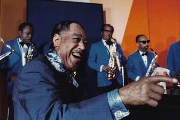 159. Постер: Duke Ellington - пианист, аранжировщик, композитор, яркий представитель джазового искусства