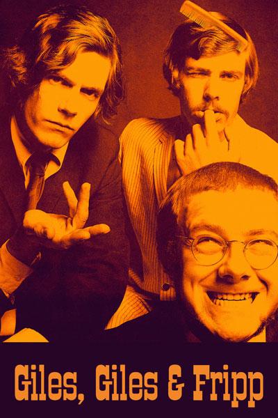 166-2. Постер: Giles, Giles & Fripp - британская группа, образованная 1967 году, предтеча King Crimson