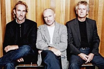 169. Постер: Genesis: Banks, Rutherford, Collins - последний состав группы