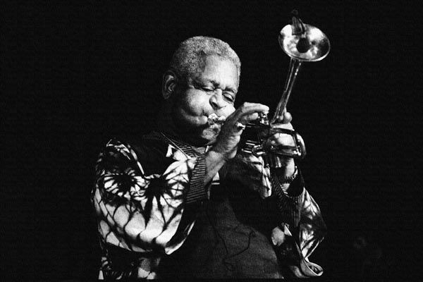 172. Постер: Dizzy Gillespie - американский джазовый трубач