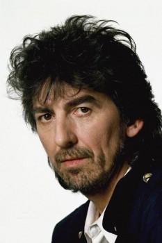 179. Постер: George Harrison, портрет в Лондоне