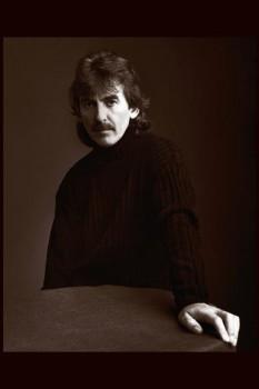 180. Постер: George Harrison, автор и исполнитель несколько композиций на каждом альбоме the Beatles