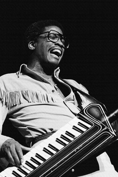 188. Постер: Herbie Hancock - один из наиболее влиятельных джазовых музыкантов XX века