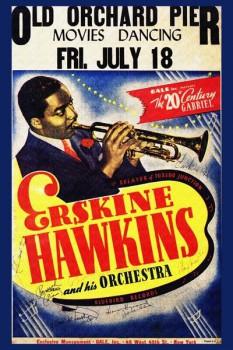 190. Постер: Erskine Hawkins и его оркестр