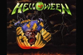 191. Постер: Helloween, немецкой металлической группы