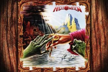 193. Постер: Helloween, с одного из альбомов группы