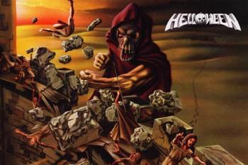194. Постер: Helloween, рисунок к альбому