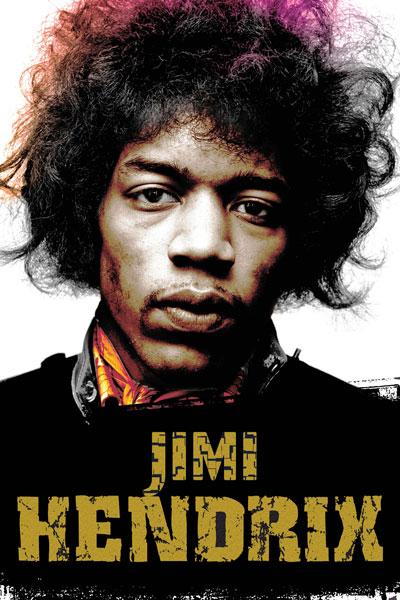 195. Постер: Jimi Hendrix, американский исполнитель-виртуоз, мастер экспериментов и гений электрогитары