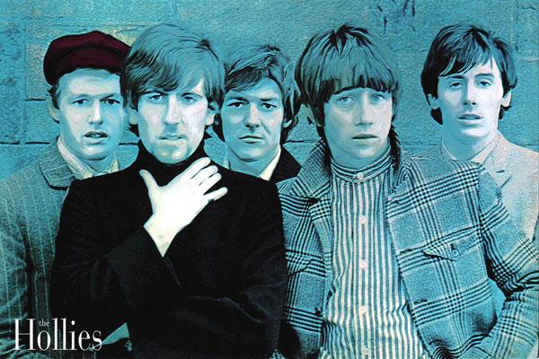 200. Постер: the Hollies - британская рок-группа из Манчестера
