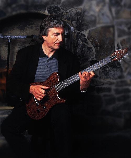 203-3. Постер: Английский гитарист и композитор Allan Holdsworth