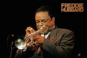 204. Постер: Freddie Hubbard - американский джазмен и трубач