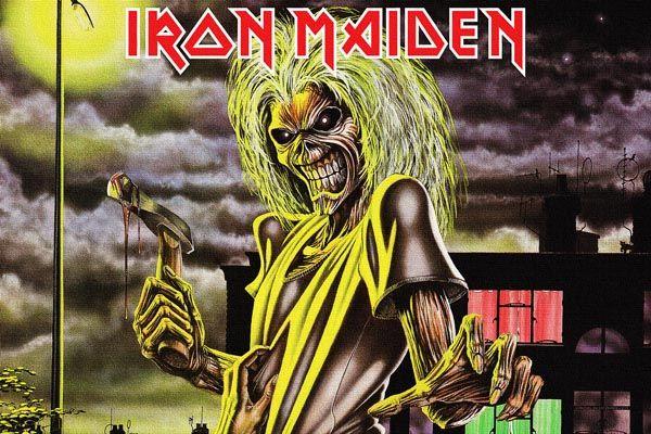 205. Постер: Iron Maiden, британской рок-группы