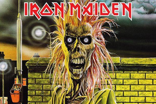 207. Постер: Iron Maiden, рисунок к альбому британской металлической группы