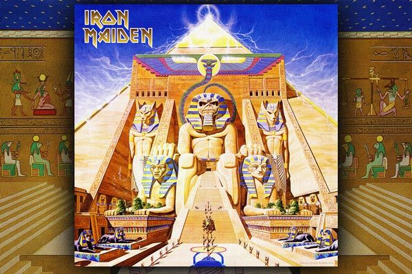 209. Постер Iron Maiden к одному из своих альбомов