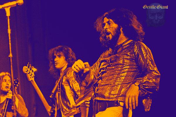 211-2. Постер: Gentle Giant - культовая британская группа прогрессивного рока