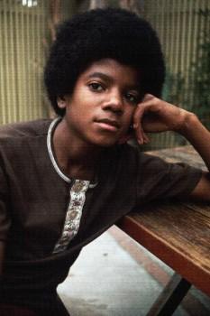 213. Постер: Michael Jackson в начале 70-х