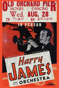 217. Постер: Harry James и его оркестр