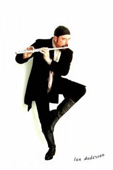 219-2. Постер: Ian Anderson - лидер легендарной английской группы Jethro Tull
