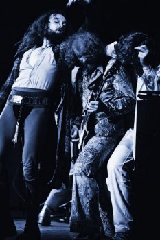 219. Постер: лидер Jethro Tull - Ian Anderson