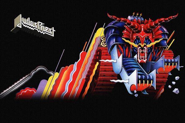 229. Постер: Judas Priest, рисунок для одного из альбомов группы
