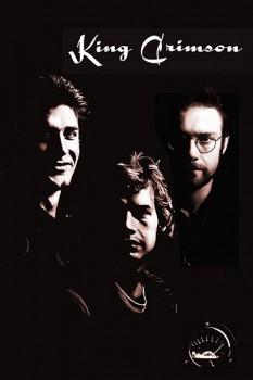 233-4. Постер: King Crimson, состав 1974 года