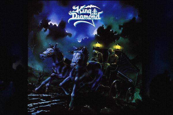 235. Постер: King Diamond, изображение к альбому группы