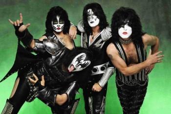 245. Постер: Рок группа Kiss