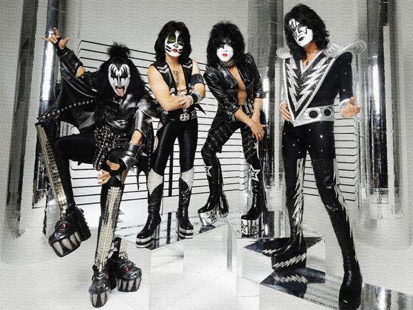 248. Постер: Группа Kiss в обновленном составе