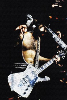 259. Постер: Paul Stanley из группы Kiss