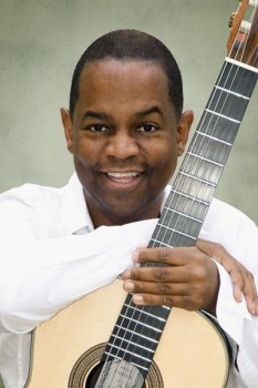 264. Постер: Earl Klugh - американский Smoothie-jazz и fusion гитарист, композитор