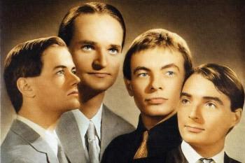 265. Постер: Kraftwerk - немецкий музыкальный коллектив, внёсший заметный вклад в развитие электронной музыки