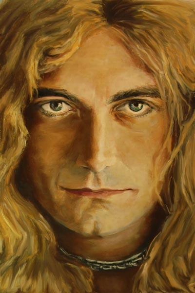 266-2. Постер: Robert Plant - выдающийся британский рок-вокалист, участник группы Led Zeppelin