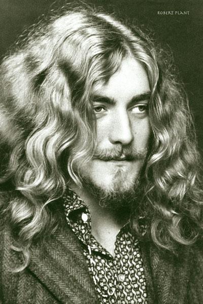 266-3. Постер: Певец и композитор, участник легендарной британской группы Led Zeppelin -Robert Plant