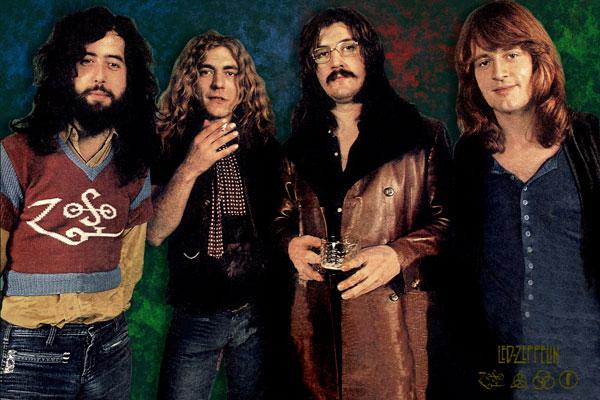 266-6. Постер: Классика рока - Led Zeppelin