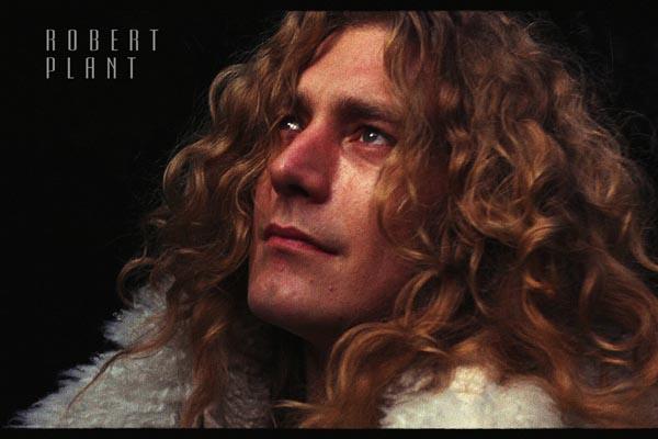 266. Постер: Robert Plant - вокалист группы Led Zeppelin, одной из влиятельнейших групп 20 столетия