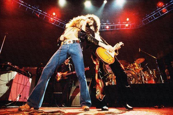 267. Постер: Led Zeppelin, британская рок-группа, была образована в сентябре 1968 года в Лондоне