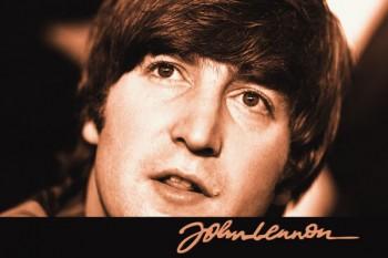 268. Постер: John Lennon - британский рок-музыкант, певец, поэт и композитор