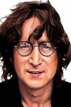 273. Постер: John Lennon. Цветное изображение