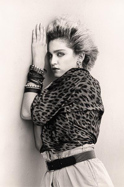 277. Постер: Madonna. Самая коммерчески преуспевающая певица