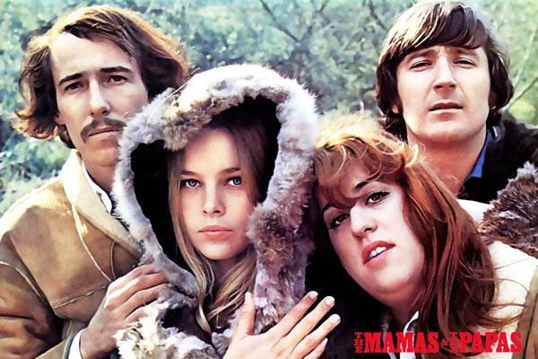 284. Постер: the Mamas & the Papas - американский музыкальный коллектив второй половины 1960-х годов