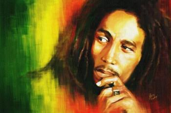 285. Постер: Bob Marley - самым авторитетный исполнитель в стиле Регги