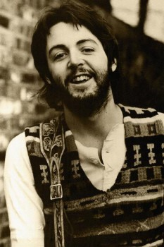 293. Постер: Paul Mc`Cartney, 1971