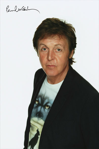 295. Постер: Сэр Paul Mc`Cartney