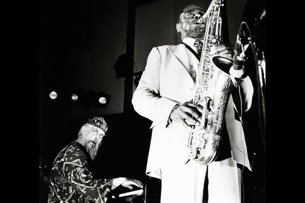 296. Постер: Великие джазмены - Chris McGregor и Archie Shepp