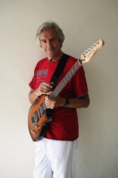 298. Постер: John Mc`Laughlin, первая фигура в слиянии джаза с роком