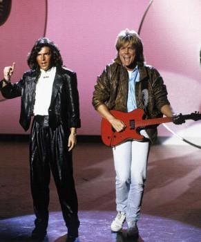 306. Постер: Modern Talking - дуэт, исполнявший танцевальную музыку в стиле евродиско