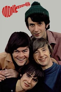 311. Постер: The Monkees перед выступлением на телевидении, 1967