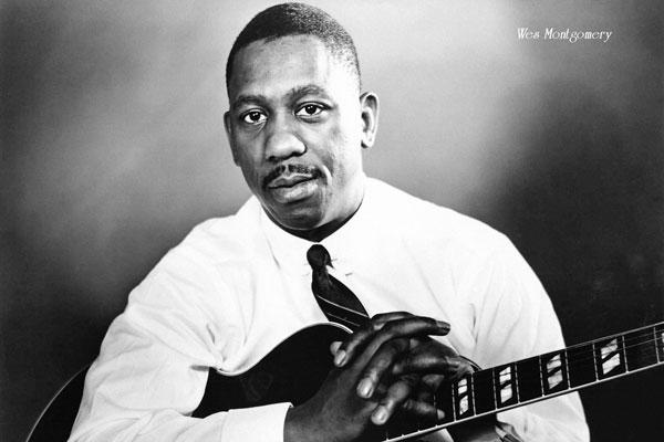 312-3. Постер: Одна из наиболее значительных фигур в истории джазовой гитары - Wes Montgomery
